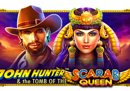 John Hunter and the Tomb of the Scarab Queen Slot