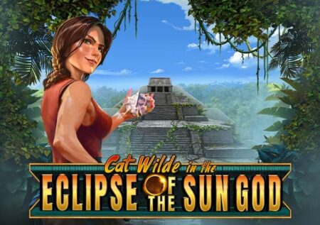 Cat Wilde in the Eclipse of the Sun God Slot