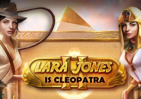 Lara Jones is Cleopatra 2 Slot